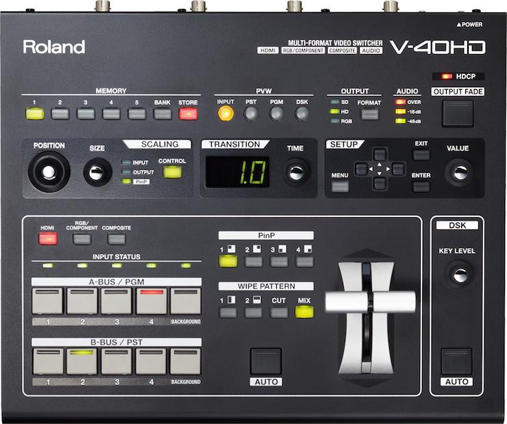 Roland V-40HD マルチフォーマットスイッチャー